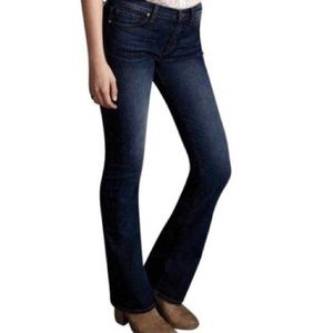 J Brand Dark Wash Boot Cut Jeans, Extra Long